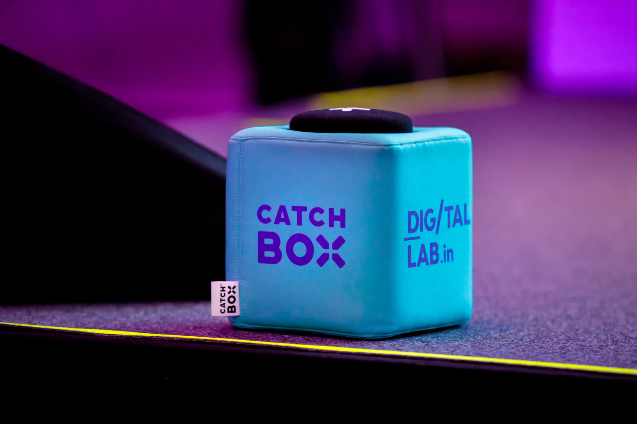 Catchbox at Digital lab event