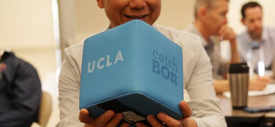 UCLA and Catchbox